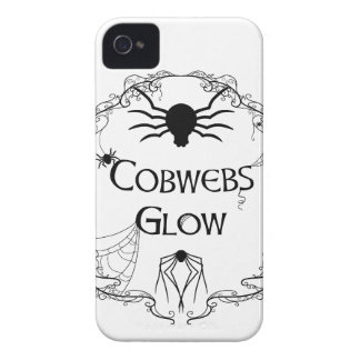 Cobwebs Glow Case-Mate iPhone 4 Case