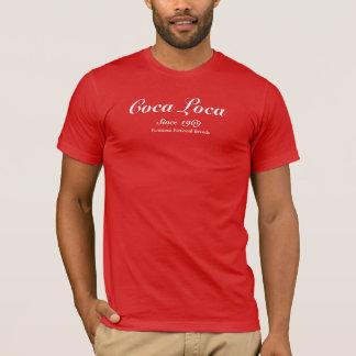 Coca Loca red t-shirt for men