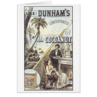 Cocanut de Dunham Felicitaciones