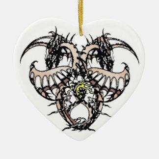 Cocao Ice Dragonheart Ceramic Ornament