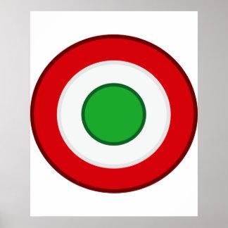 Coccarda Coppa Italia, Italia Poster