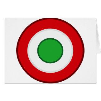 Coccarda Coppa Italia, Italia Felicitacion
