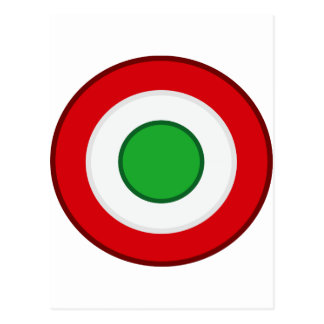 Coccarda Coppa Italia, Italia Tarjeta Postal