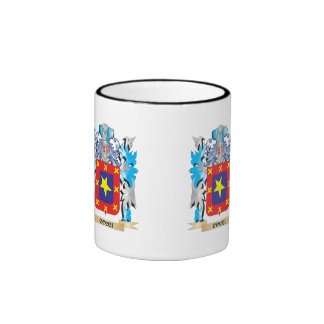 Cocci Coat of Arms - Family Crest Ringer Coffee Mug