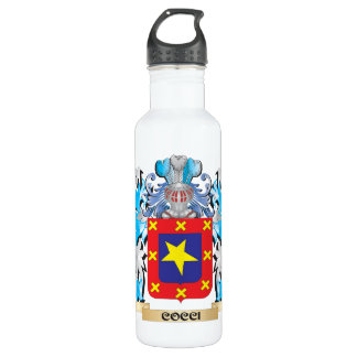 Cocci Coat of Arms - Family Crest 24oz Water Bottle