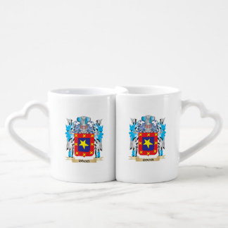 Cocci Coat of Arms - Family Crest Couples' Coffee Mug Set