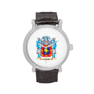 Cocci Coat of Arms - Family Crest Watches