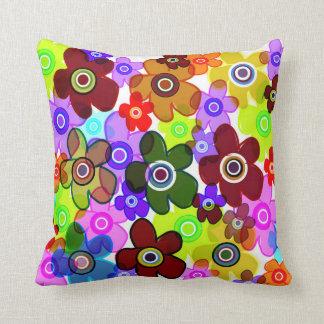 Coccoflowers Throw Pillow