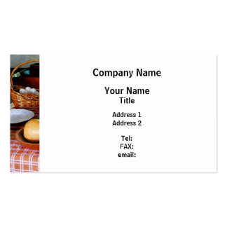 Cocer una calabaza y un pastel de calabaza tarjeta de visita