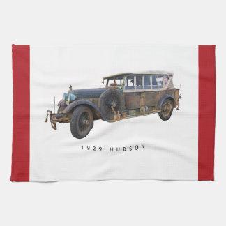 Coche 1929 del Hudson Toalla