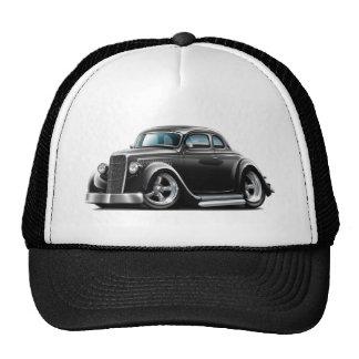 Coche 1934-36 del negro del cupé de Ford Gorras De Camionero