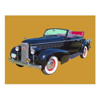 Coche 1938 del lujo de Cadillac Lasalle Postales
