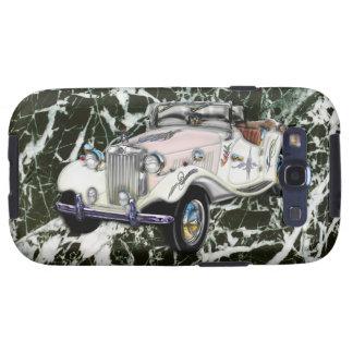 Coche 1955 de deportes convertible de MG del vinta Samsung Galaxy S3 Cárcasa