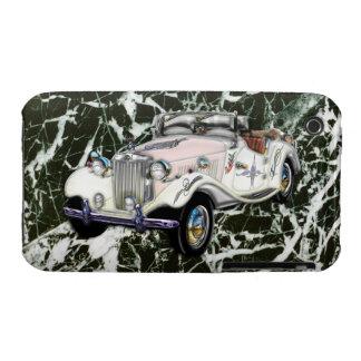 Coche 1955 de deportes convertible de MG del vinta iPhone 3 Case-Mate Carcasas