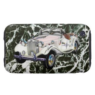 Coche 1955 de deportes convertible de MG del vinta Tough iPhone 3 Cárcasa