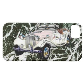 Coche 1955 de deportes convertible de MG del vinta iPhone 5 Protector