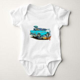 Coche 1956 de la turquesa de Chevy 150-210 Body Para Bebé