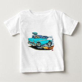 Coche 1956 de la turquesa de Chevy 150-210 Playera De Bebé
