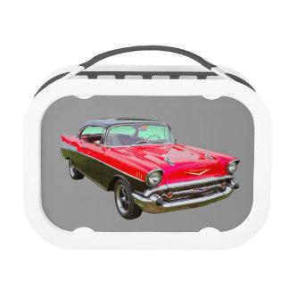 Coche 1957 de la obra clásica del Bel Air de Chevr