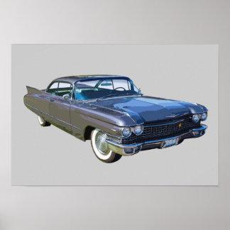 Coche 1960 del lujo de Cadillac Impresiones