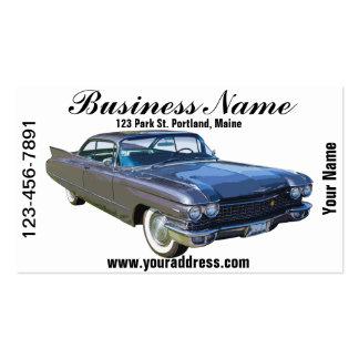 Coche 1960 del lujo de Cadillac Tarjetas De Visita