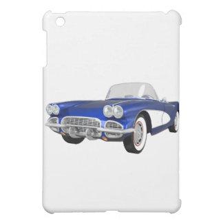 Coche 1961 de deportes del Corvette: Final azul: c