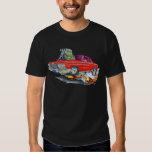 Coche 1962-63 del rojo del impala remeras