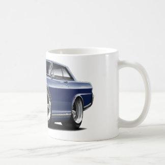 Coche 1964-65 del azul de Nova DK Taza Básica Blanca