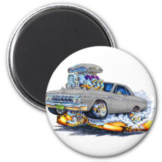 Coche 1964 del gris de Plymouth Iman Para Frigorífico