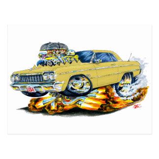 Coche 1964 del moreno del impala postal