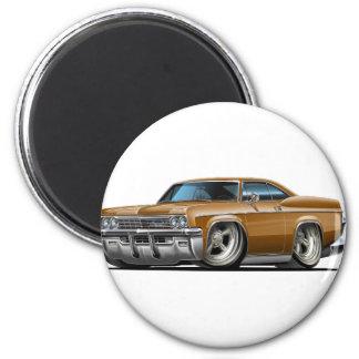 Coche 1965-66 de Brown del impala Imán Redondo 5 Cm