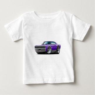 Coche 1966-67 de la púrpura del cargador playera de bebé