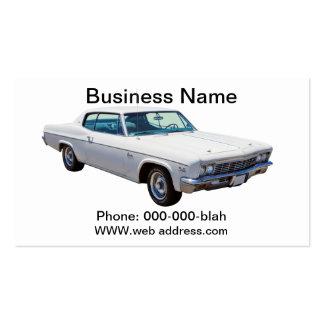 Coche 1966 del músculo de Chevrolet Caprice 427 Tarjetas De Visita