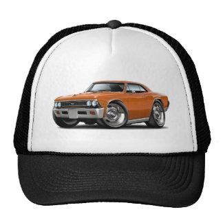 Coche 1966 del naranja de Chevelle Gorro