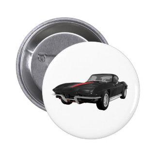 Coche 1967 de deportes del Corvette Acabado en ne Pin