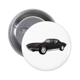 Coche 1967 de deportes del Corvette Acabado en ne Pins