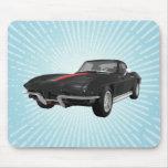 Coche 1967 de deportes del Corvette: Acabado en ne Tapete De Ratones