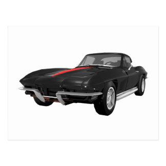 Coche 1967 de deportes del Corvette: Acabado en Tarjetas Postales