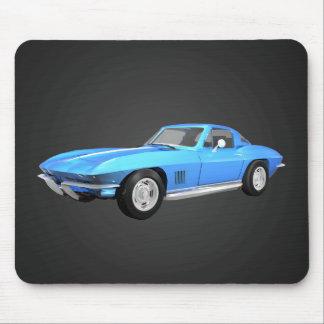 Coche 1967 de deportes del Corvette: Final azul: M Alfombrilla De Raton
