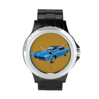 Coche 1967 del músculo de Buick Riviera Relojes