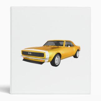 """Coche 1967 del músculo de Camaro: Final amarillo: Carpeta 1"""""""