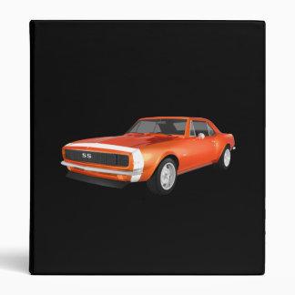 """Coche 1967 del músculo de Camaro: Final anaranjado Carpeta 1"""""""