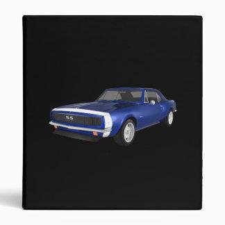 """Coche 1967 del músculo de Camaro: Final azul: Carpeta 1"""""""
