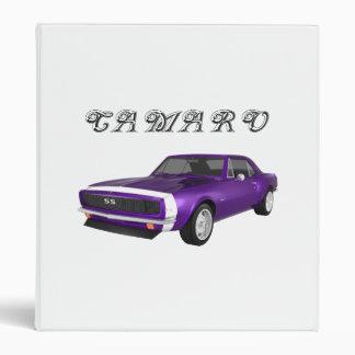 """Coche 1967 del músculo de Camaro: Final púrpura: C Carpeta 1"""""""