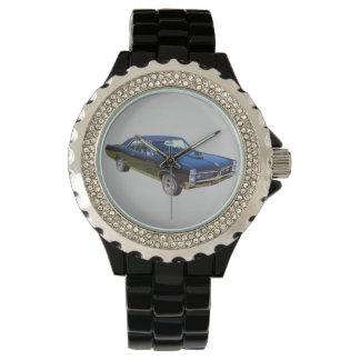Coche 1967 del músculo de Pontiac GTO Reloj De Mano