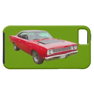 Coche 1968 del músculo del Roadrunner de Plymouth iPhone 5 Carcasa