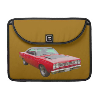 Coche 1968 del músculo del Roadrunner de Plymouth Funda Macbook Pro