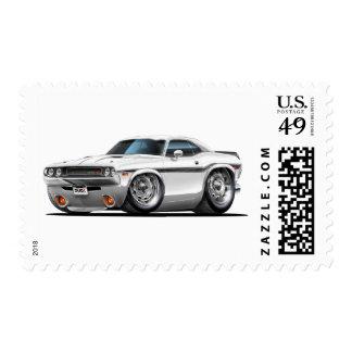 Coche 1970-72 del blanco del desafiador sello