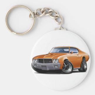 Coche 1970-72 del naranja de Buick GS Llaveros