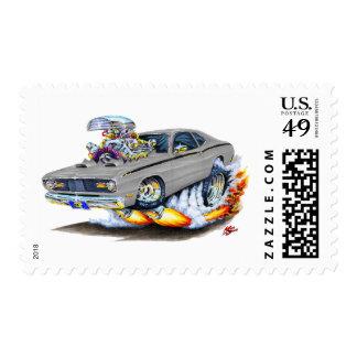 Coche 1970-74 del gris del plumero de Plymouth Envio